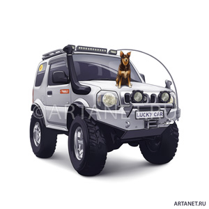 jimny_lucky_car
